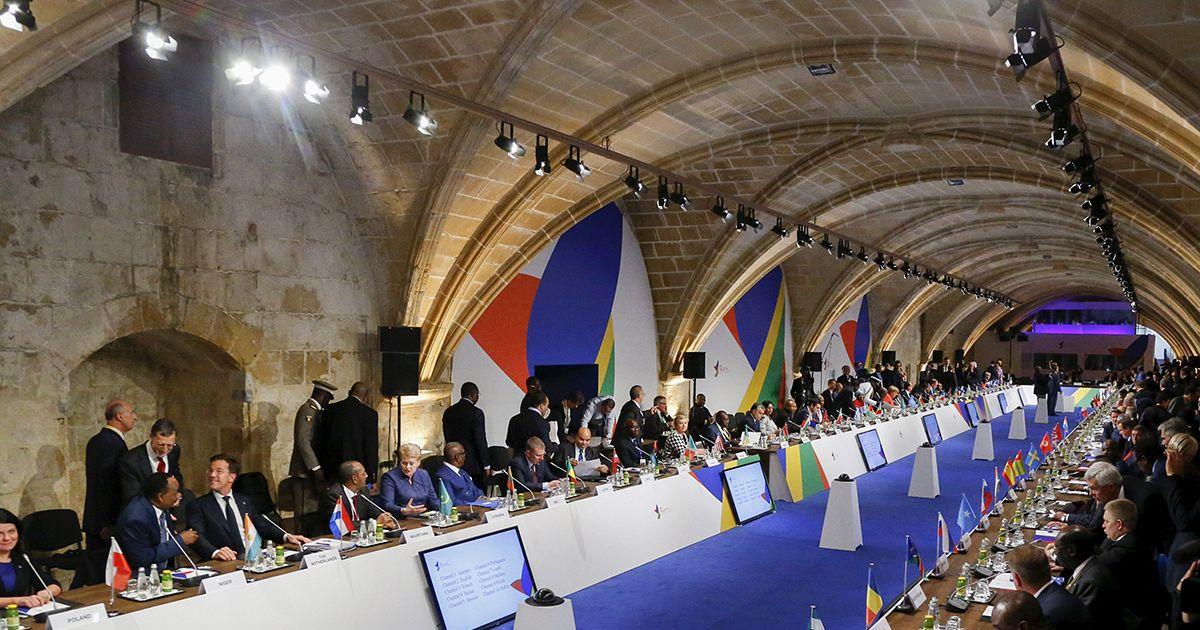 Rencontre afrique europe