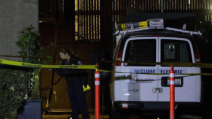 Fegyveres férfi a San Franciscó-i kórház tetején