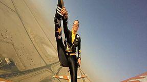 Dubai: acrobacias en el cielo