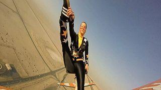 عرض مثير للطيران في دبي