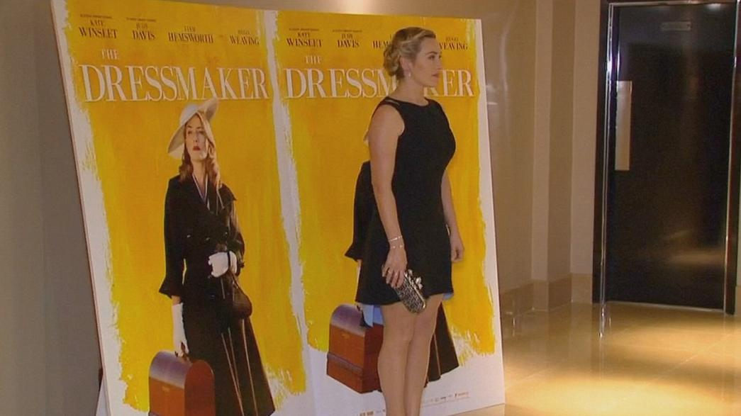 "Winslet matches haute couture with hot revenge in ""The Dressmaker"""