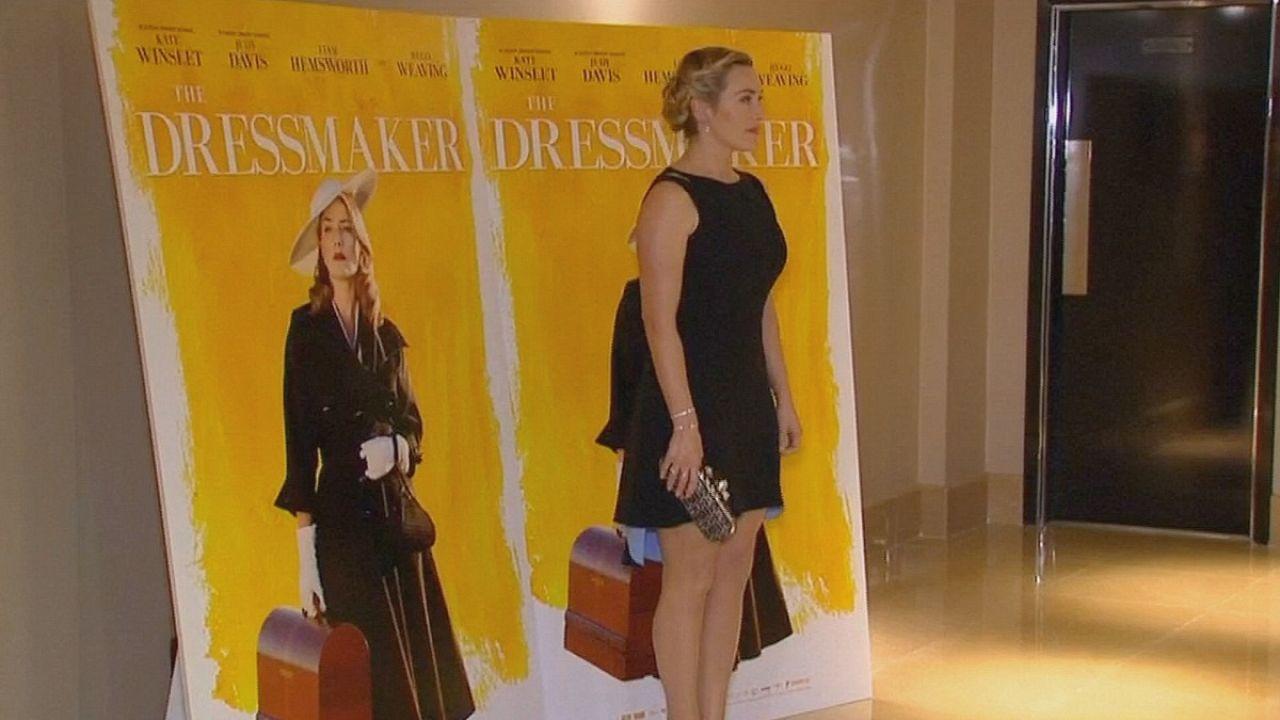 Kate Winslet és a Singer-varrógép