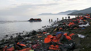 L'île de Lesbos débordée par les réfugiés