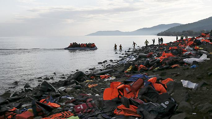 Lesbos struggles to provide enough shelter for continuing flow of migrants