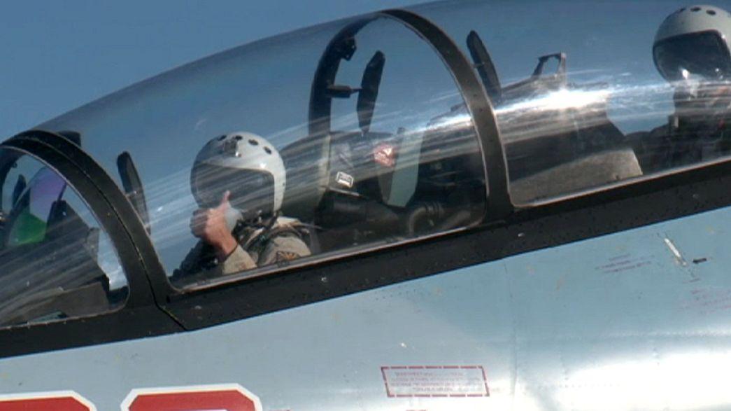 Siria: l'aviazione russa ha colpito oltre 2500 obiettivi Isil