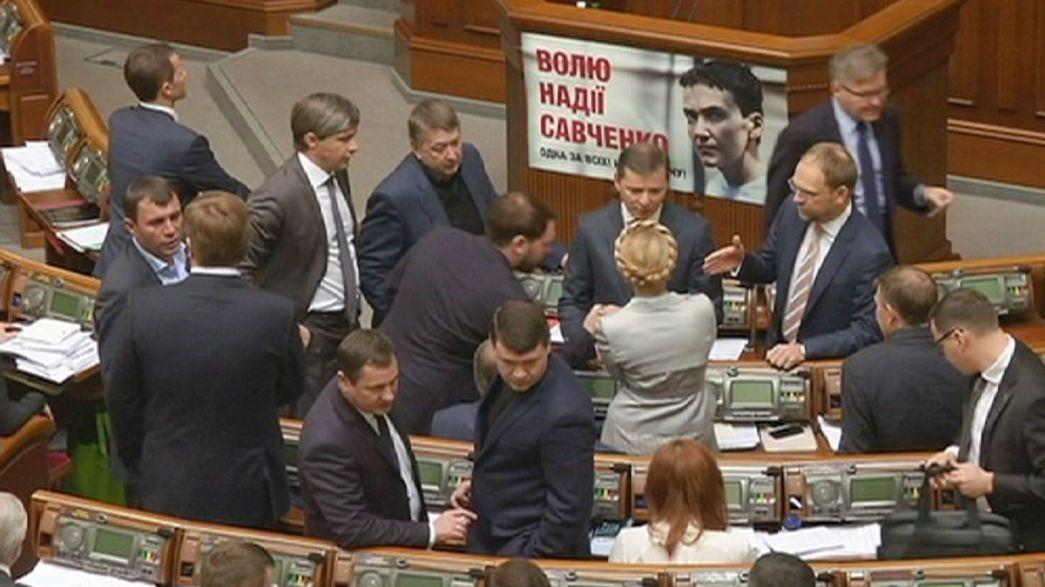 Le parlement ukrainien adopte difficilement un amendement en faveur des homosexuels