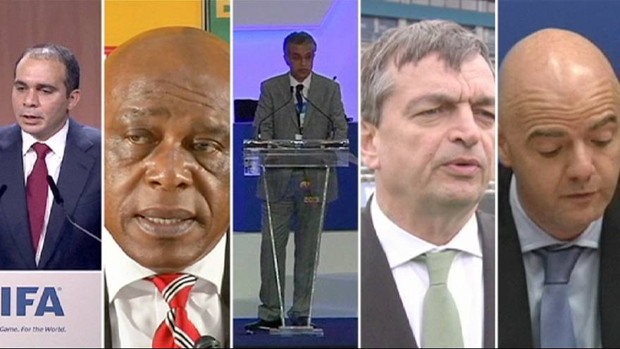 FIFA announces five candidates for presidency