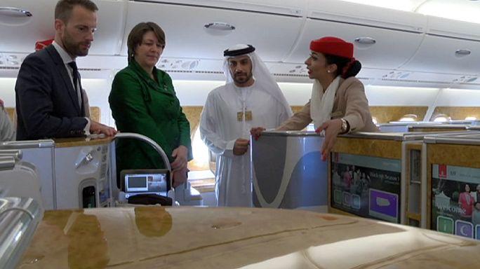 Violeta Bulc veut attirer les compagnies du Golfe vers l'espace aérien trans-européen