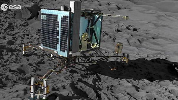 Philae keşif aracının 67P kuyrukluyıldızına inmesinin üzerinden 1 yıl geçti