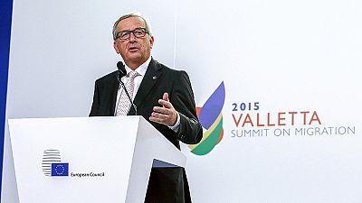 """Vertice de La Valletta, Juncker:"""" Accelerare i ricollocamenti, di questo passo finiamo nel 2101"""""""