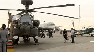 Civilian orders upstaged by demand for military planes at Dubai Air Show