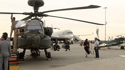 El Airshow de Dubai destaca por las compras militares antes que los aviones civiles