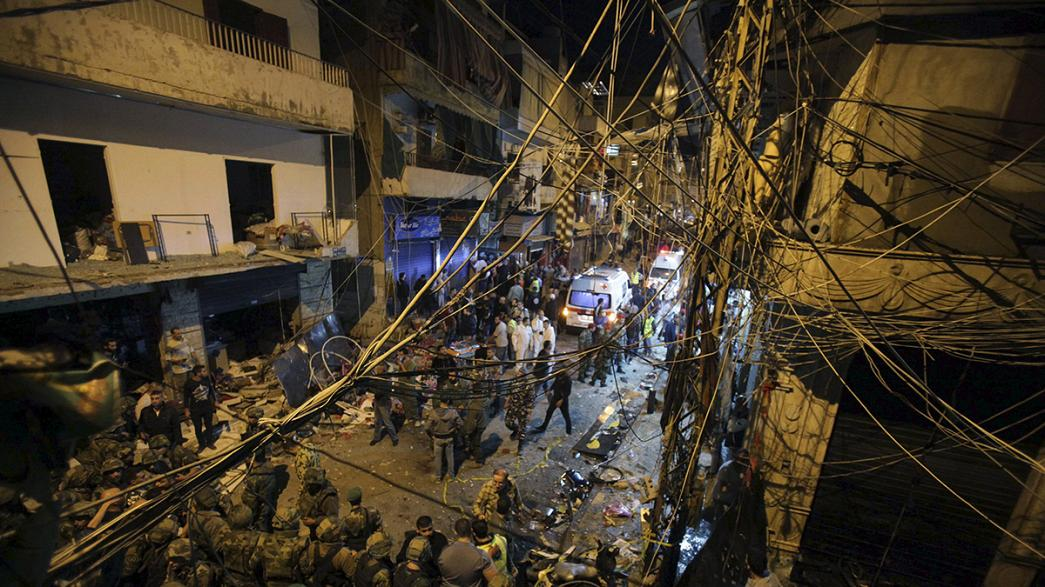 IS-Miliz übernimmt Verantwortung für blutigen Doppelanschlag in Beirut
