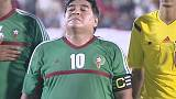 Maradona says he is fighting FIFA corruption