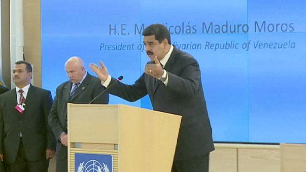 Venezuela lideri Maduro'nun iki yakını uyuşturucu ticaretinden gözaltında