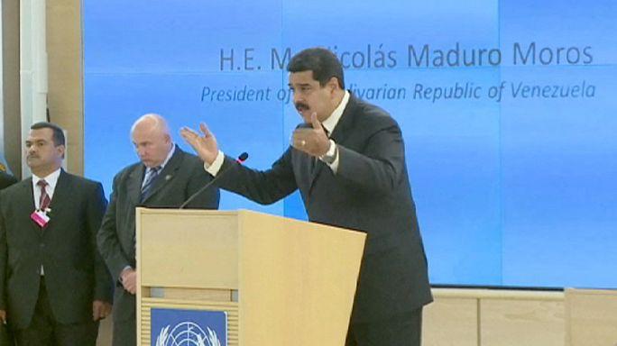 Drogcsempészetért letartóztatták a venezuelai elnök két rokonát