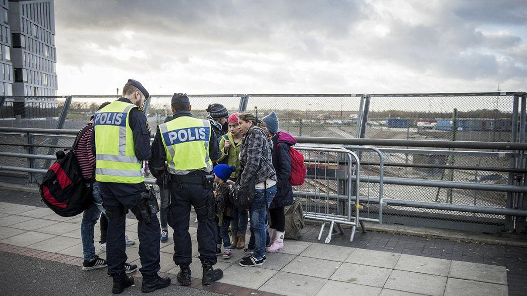 Suecia restablece los controles fronterizos para hacer frente al flujo de refugiados