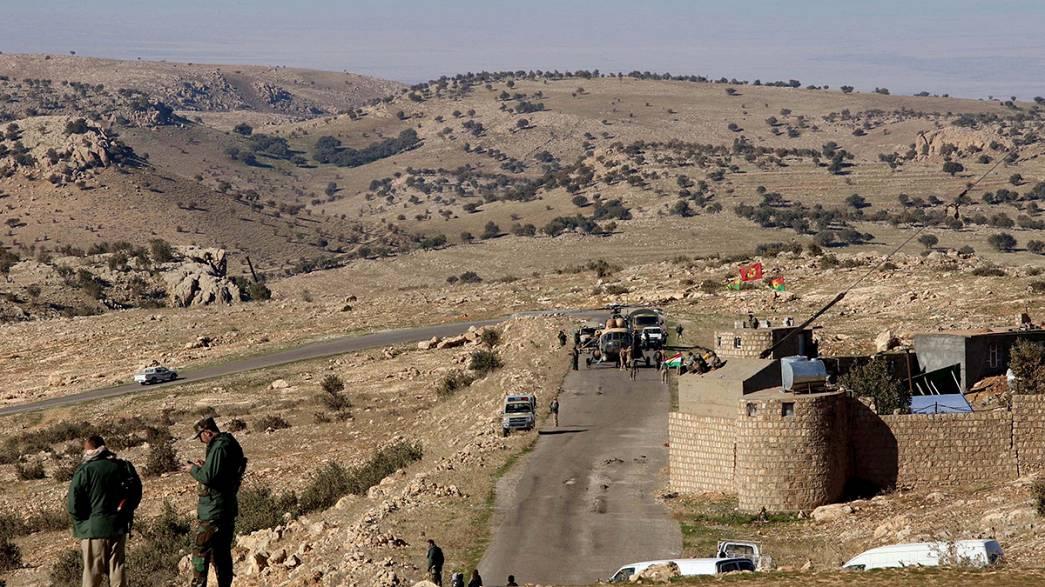 Peşmerge güçleri Sincar'ı IŞİD'den temizliyor
