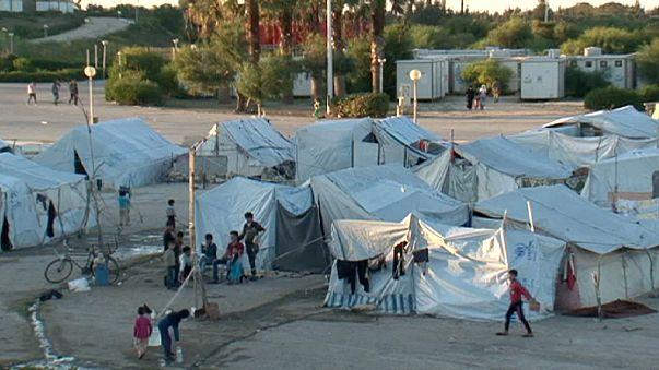 euronews visita el campo de desplazados sirio de Latakia