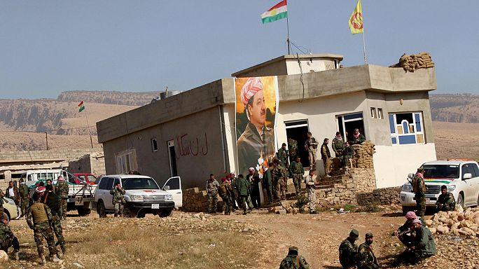 Peşmergeler Sincar ilçesini IŞİD'den geri aldı