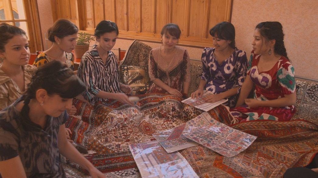 Tappeti, ceramica e ricamo: le tradizioni pluricentenarie di Bukhara