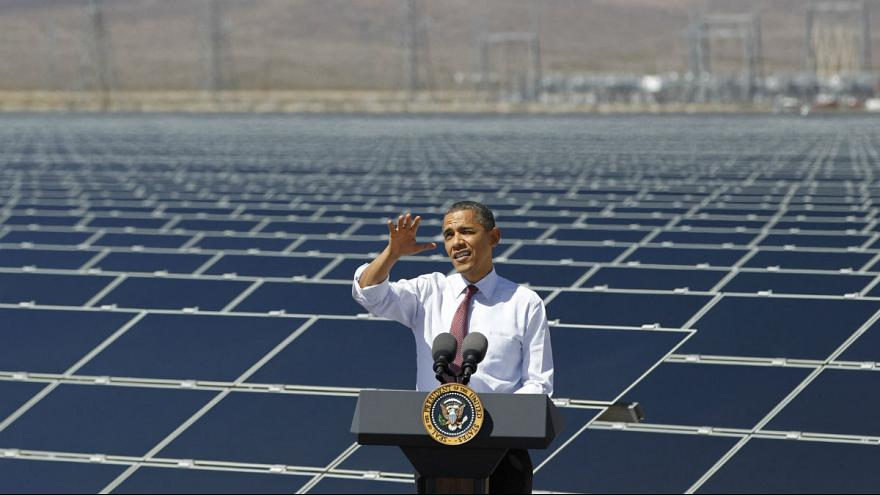 [COP21] In Paris, Obama wants to lead the world to a clean energy future