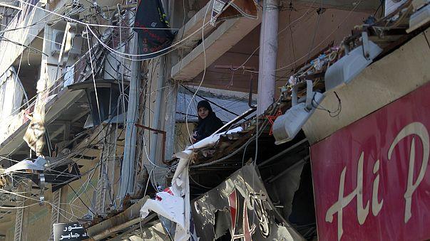 حداد في لبنان على أرواح ضحايا اعتداءي برج البراجنة