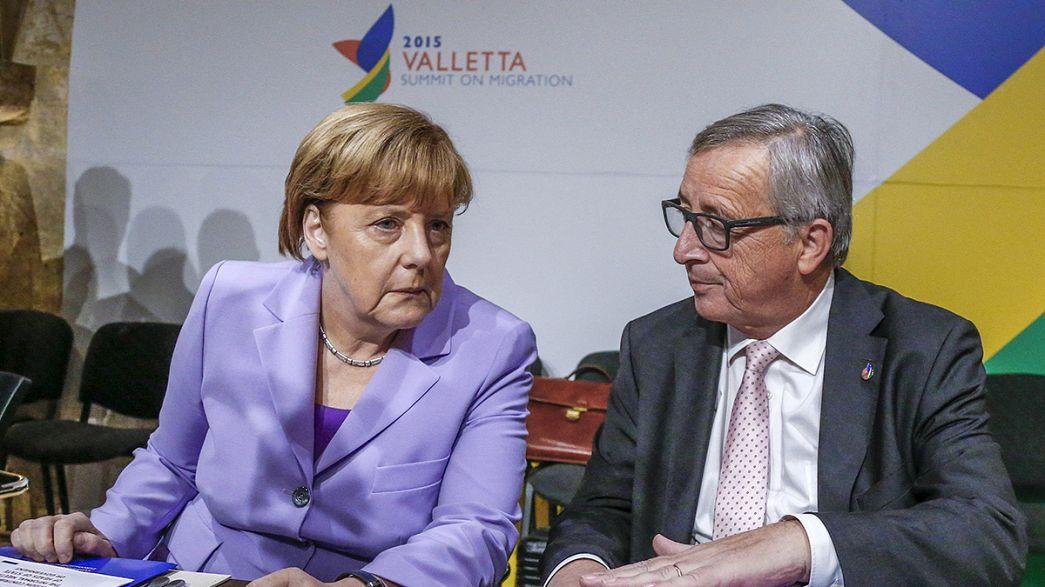 Kampf der Flüchtlingskrise mit Afrika und der Türkei - Israel ist sauer auf die EU - die große Brexit Debatte ist eröffnet.