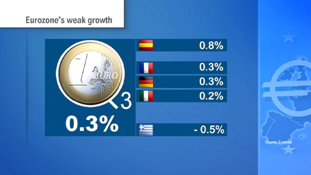 La croissance de la zone euro déçoit et pourrait inciter la BCE à agir