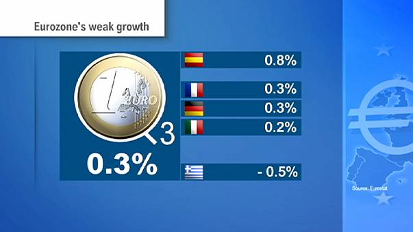 Food for thought for Draghi and ECB as eurozone's recovery splutters again