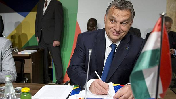 "Hungary's prime minister suspects ""masterplan"" is behind refugee crisis"