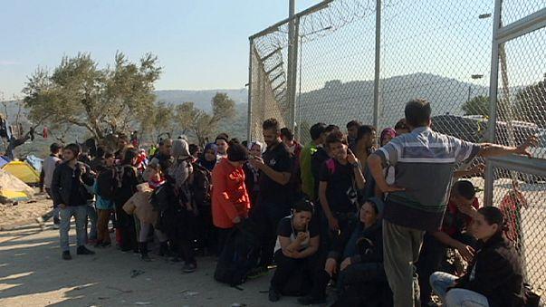 Moria ve Kara Tepe: Euronews, Midilli adasının iki mülteci kampını ziyaret etti