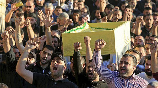 В Бейруте хоронят жертв теракта