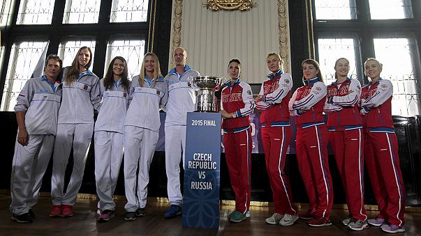 République Tchèque-Russie en finale de la Fed Cup