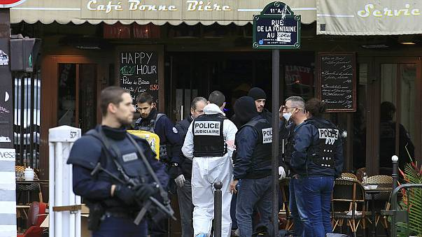 The Islamic State militant group claims responsibility for Paris attacks in which at least 128 die