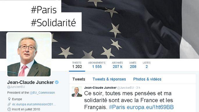 Dans la douleur, le monde solidaire de Paris