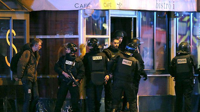 A párizsi terrortámadások időrendben