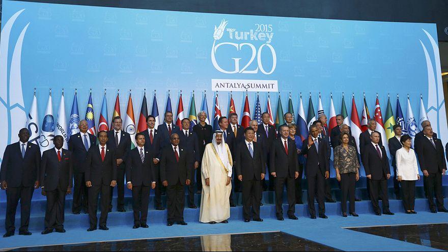 Terrorismo domina cimeira do G20