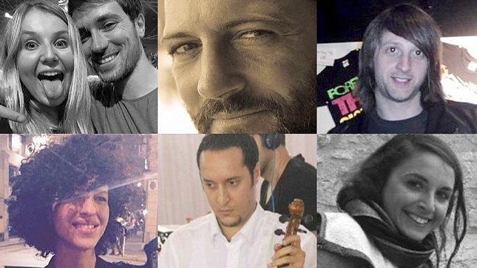 Теракты в Париже: личности погибших устанавливаются