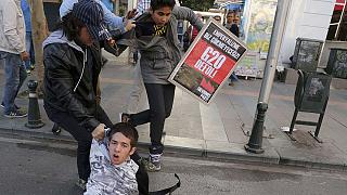 Cientos de manifestantes intentan boicotear la cumbre del G20
