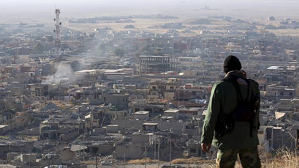 Kurdish forces discover two mass graves after freeing Iraqi town from ISIL control