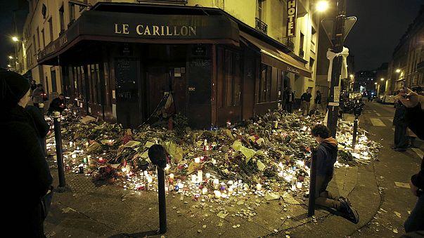 الترحم على أرواح ضحايا الاعتداءات الارهابية بباريس