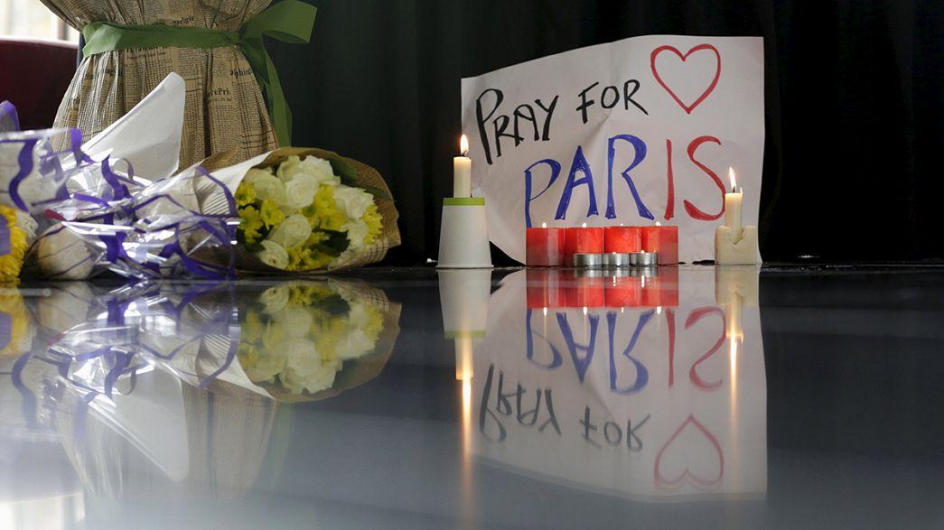 Parisians gather in Place de la République despite the state of emergency