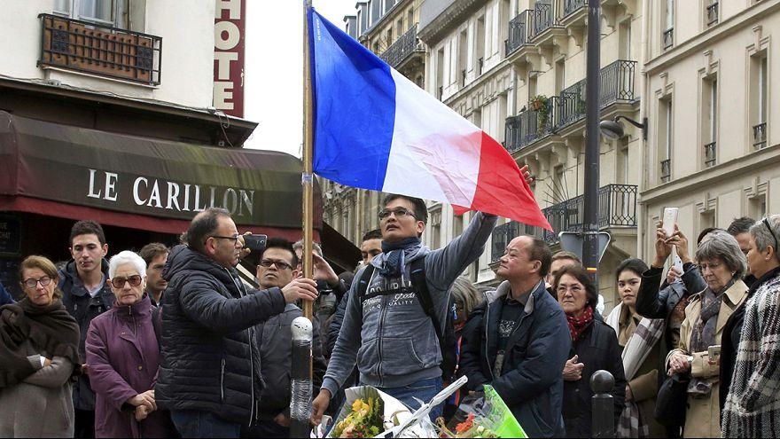 وحشت مردم در میدان «جمهوری» پاریس بدنبال پرتاب ترقه