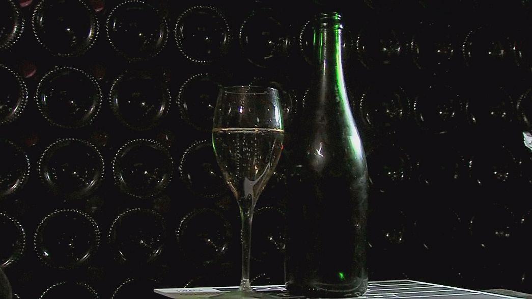 Wie der Klimawandel dem Champagner zu Kopf steigt