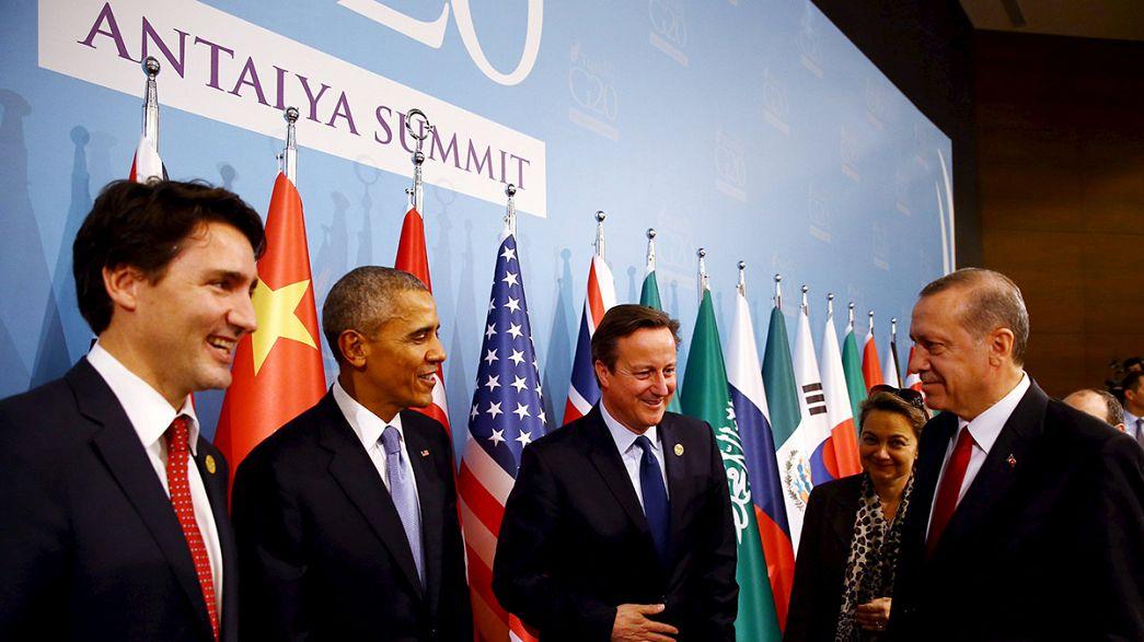 """زعماء قمة العشرين عازمون على""""محاربة الإرهاب"""""""