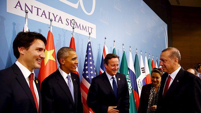 Après les attentats de Paris, le G20 unanime pour renforcer la lutte contre le terrorisme