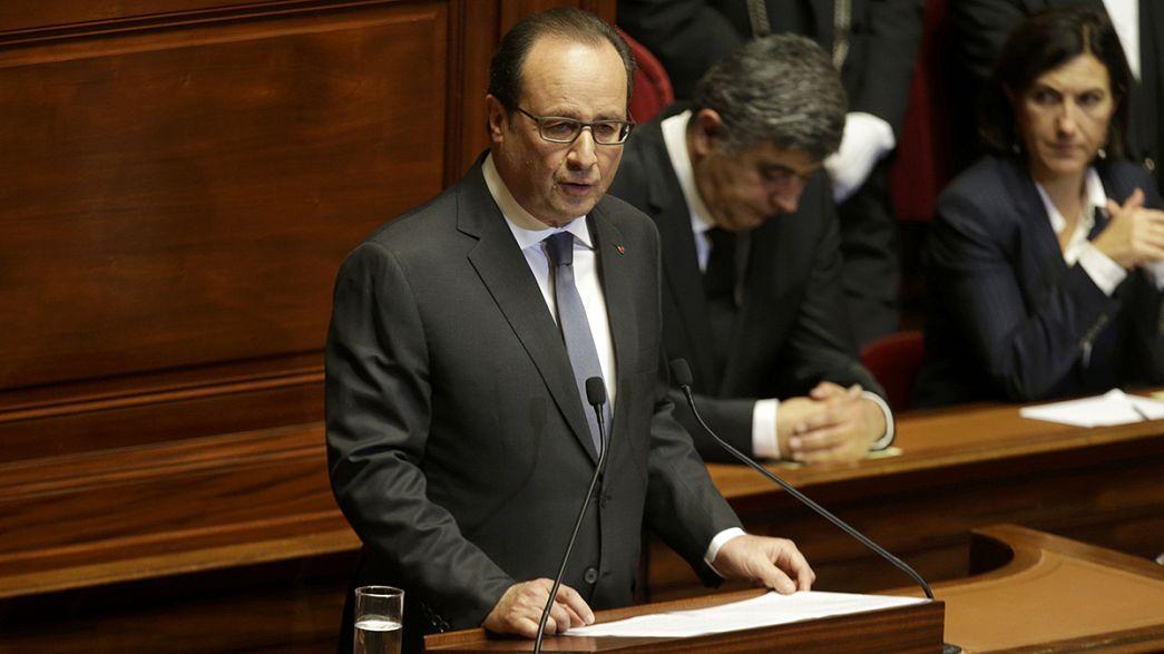 """""""Estamos numa guerra contra o terrorismo jihadista que ameaça o mundo inteiro"""", Presidente francês"""