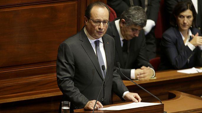 "Hollande: ""Fransa savaştadır"""