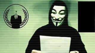 """EI muda de estratégia após declaração de guerra de """"Anonymous"""""""
